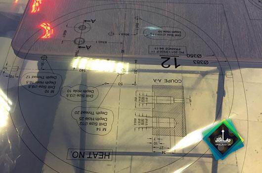 چاپ طلق ترانسپرنت شیشه ای