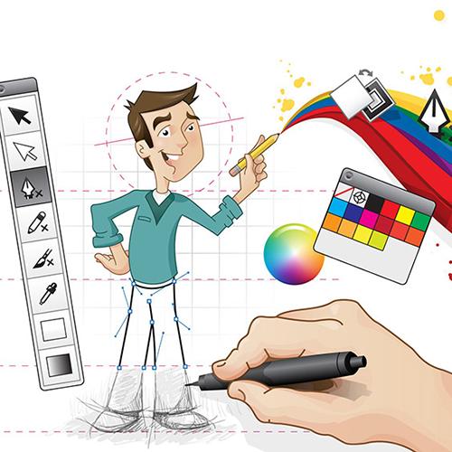 طراحی گرافیک برای چاپ